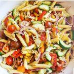Chipotle Shrimp and Nectarine Salad